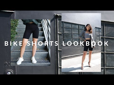 How to Style Bike Shorts Lookbook , 3 Biker Short Outfit Ideas