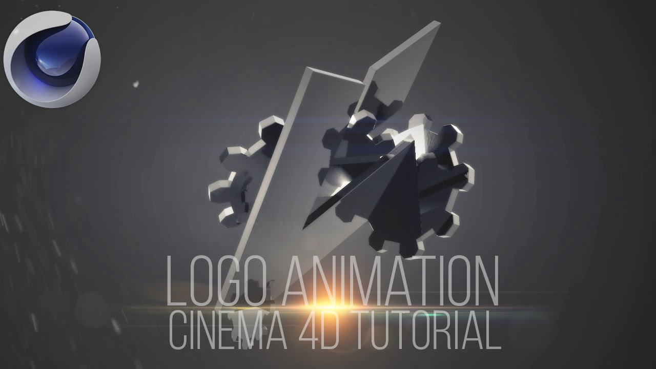 Logo text reveal intro animation free template for Cinema 4d raumgestaltung