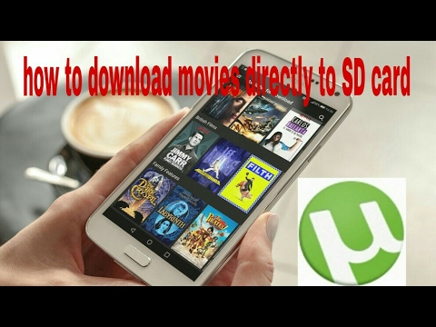 How to download movies directly to SD card