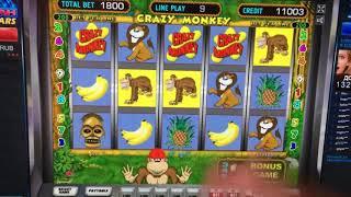 Большие выигрыши в казино Вулкан! Как выиграть в казино в автомат Crazy Monkey для новичков метод