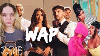 Zane - WAP (OFFICIAL MUŠIC VIDEO COVER) [Reaction]