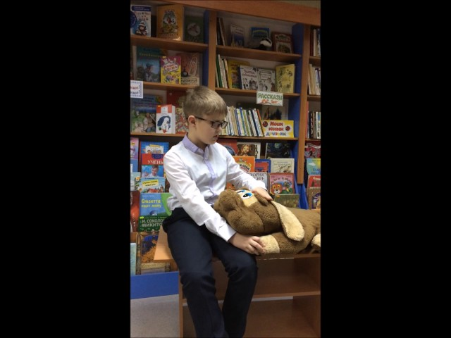 Изображение предпросмотра прочтения – АртемГобузов читает произведение «Собаке Качалова» С.А.Есенина