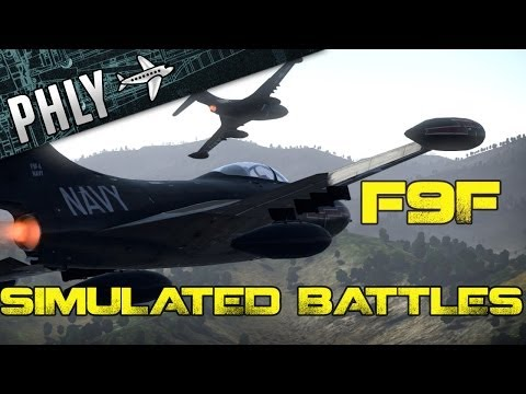 F9f 8 war thunder gameplay helicopter games