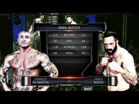Fabio Russo VS Franco De Martis MMA Magnum FC2