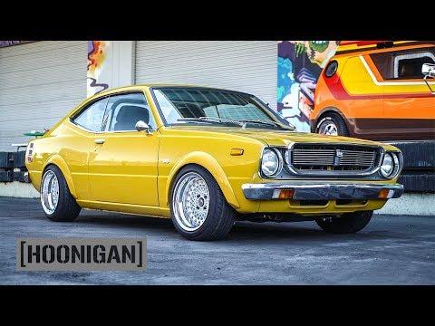 [HOONIGAN] DT 195: 1976 Toyota Corolla SR5 and Scion Riley Hawk xB