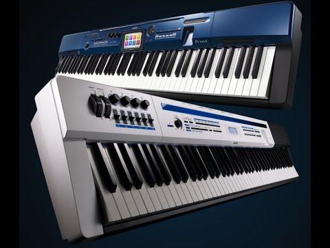 digital piano keyboard action comparison yamaha kawai casio funnydog tv. Black Bedroom Furniture Sets. Home Design Ideas