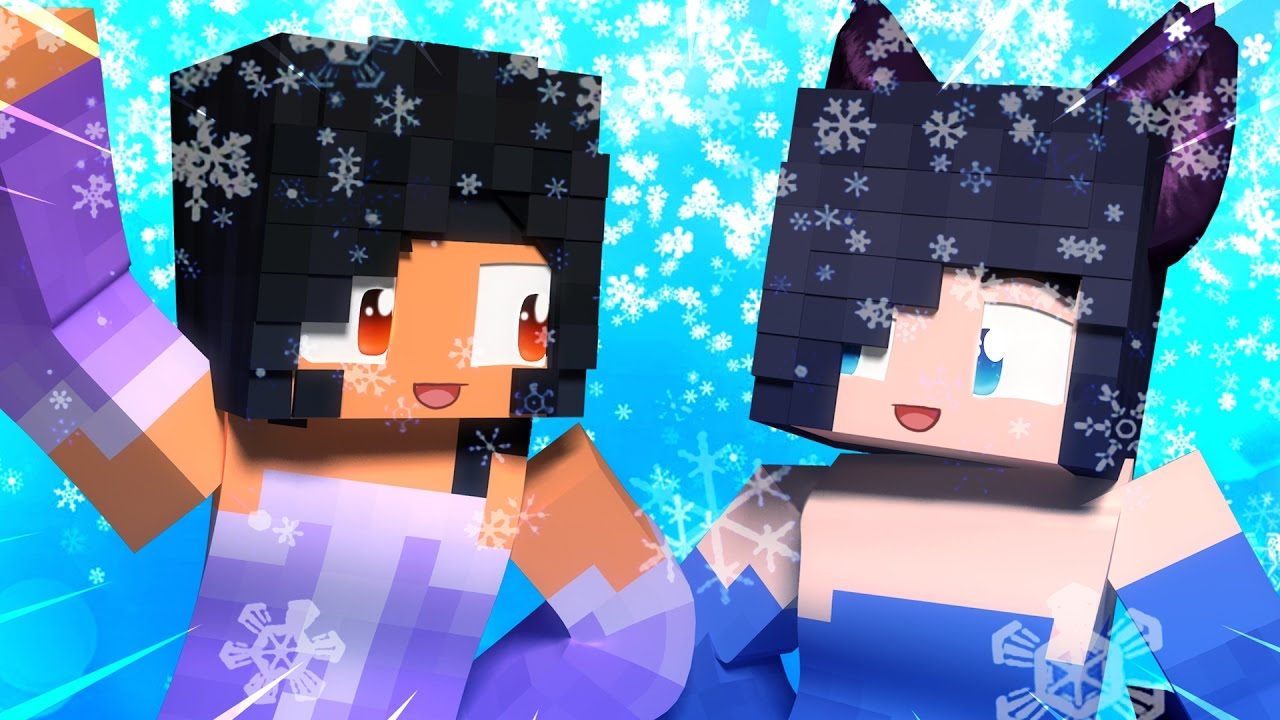 aphmau-and-dottie-on-ice-minecraft-hide-and-seek