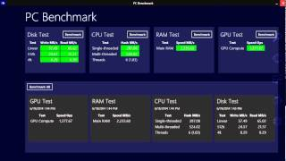 Windows 8.1 PC Benchmark test app review
