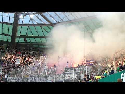 Austria Wien beim 327. Wiener Derby - Support & Choreo (16.09.18)