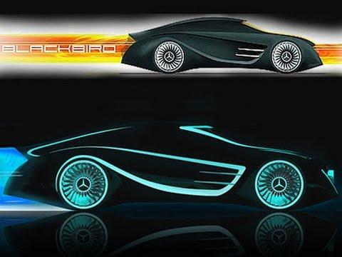 2017 mercedes benz blackbird tron legacy sports cars concept youtube