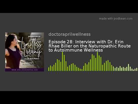 Episode 28: Interview with Dr. Erin Rhae Biller on the Naturopathic Route to Autoimmune Wellness