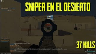 Roblox | Phantom Forces| [sniper del desierto]