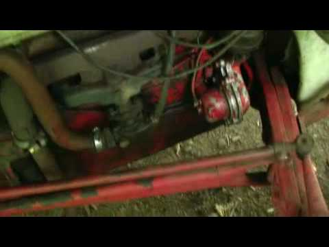 how to convert a tractor from 6 volt to a 12 volt system 6 23 10 rh youtube com  ford 8n tractor 6 volt wiring diagram