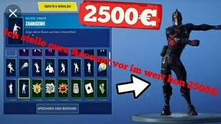🔴Fortnite I present your account worth 2500€🔴(English)🔴