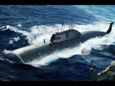 Hobby Boss 1/350 scale Akula class submarine (Russia) Updt 01