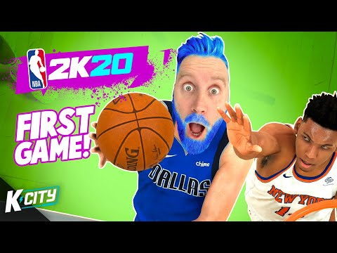 DadCity's First Day on the DALLAS MAVERICKS in NBA 2k20 K-CITY GAMING