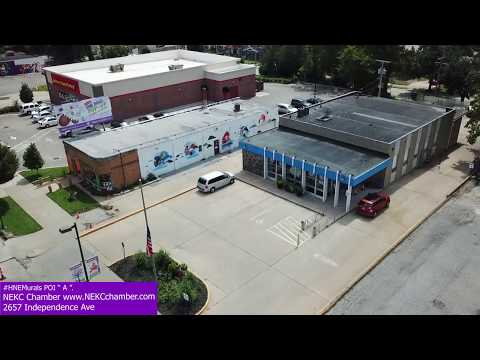 (POI) Point of Interest A: NEKC Chamber of Commerce Offices / #HNEMurals