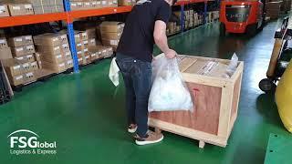 중국발송 목재포장 국제물류 Packing tip 6