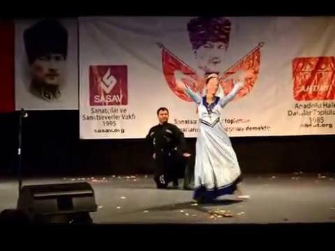 Sasav Kültür ve Sanat Gecesi Kafkas - Naz Eyleme