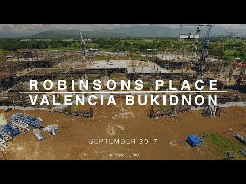 Robinsons Place Valencia Bukidnon September 2017 Progress Update 4K