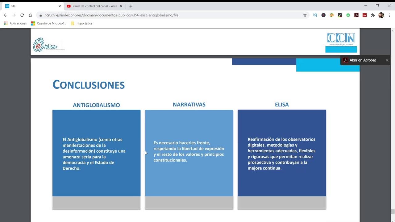BASE DE DATOS DE LOS DISIDENTES. POSIBLES REPRESALIAS