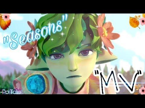 """Marshmello ft. Bastille-Happier // """"Seasons"""" Animation // Music Video"""