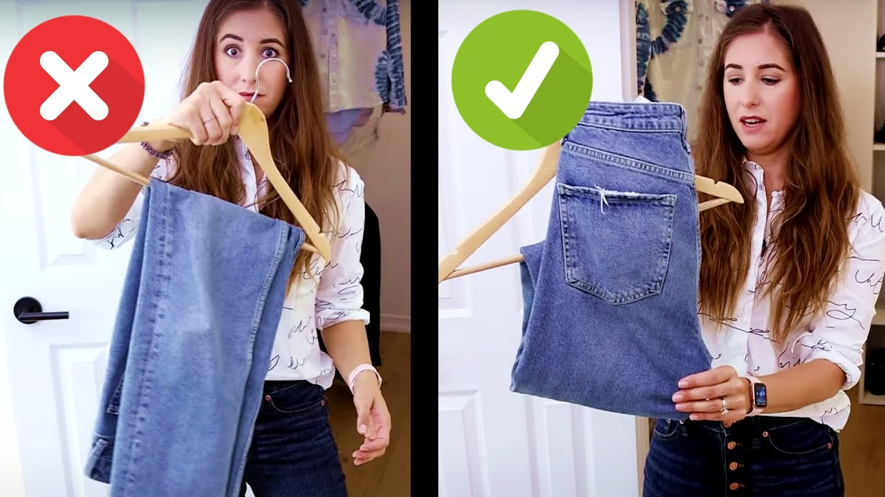 Hanging & Folding Hacks That'll Change Your Closet FOREVER!
