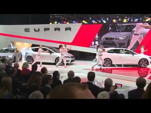 Seat Leon Cupra 280 shows its record breaking features in Geneva
