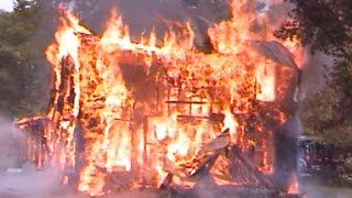 Burning down the house, Demon faces, Fire department test