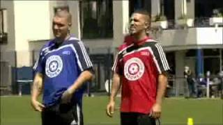 Bushido & Fler bei Sportfreunde Pocher