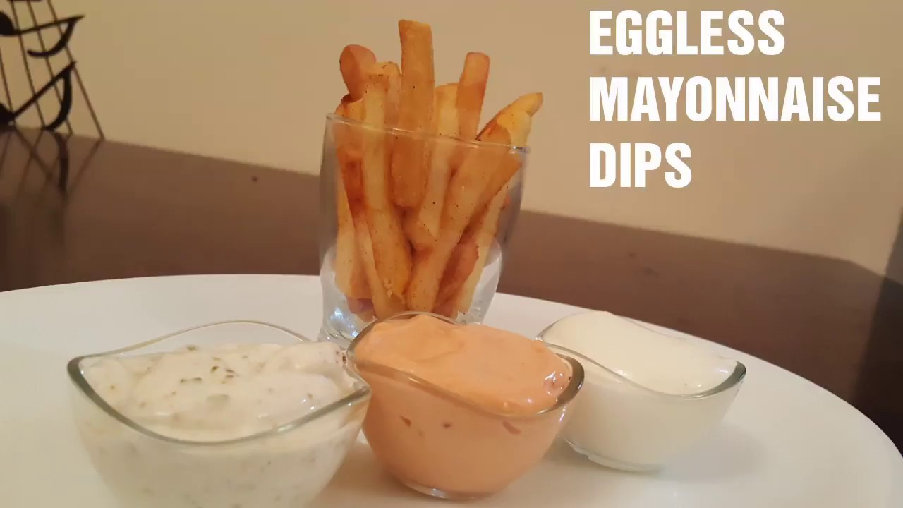 EGGLESS MAYONNAISE Homemade with 4 INGREDIENTS - GARLIC MAYONNAISE Eggless - KETCHUP MAYONNAISE