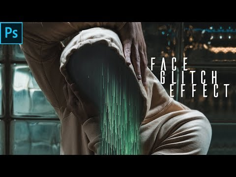 Glitch Face Effect (Wind Blast Effect) | Photo Manipulation | Photoshop Tutorial