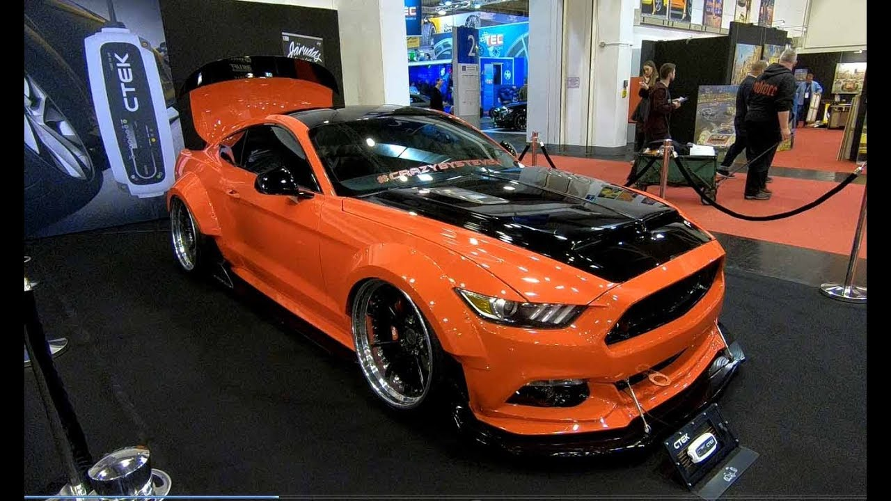 FORD MUSTANG COMPILATION 5: ROCKET BUNNY + SHELBY GT + GTE + SCHROPP + WOLF TUNING WALKAROUND ...