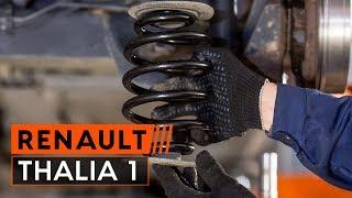 Nézzen meg egy videó útmutatók a RENAULT THALIA I (LB0/1/2_) Kormány gömbfej csere