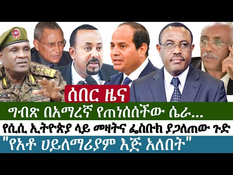 Ethiopia | የእለቱ ትኩስ ዜና | አዲስ ፋክትስ መረጃ | Addis Facts Ethiopian News | Al Sisi | Hailemariam Desalegn