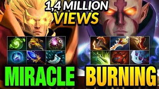 Miracle Invoker vs Burning Anti-mage - Liquid vs IG - LEGENDARY MATCH