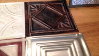 Top 20 Finishes on Real Metal Tin Ceiling Tiles