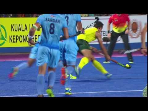 Imbasan Piala Sultan Azlan Shah 2013-2016: Australia 4-0 India   Final 2016