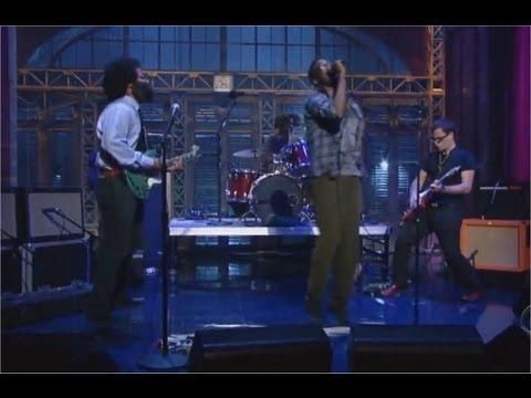 TV On The Radio - Wolf Like Me (Live on Letterman) HD