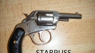 Antique Iver Johnson American Bulldog Revolver Pistol .32rf 32 Rimfire