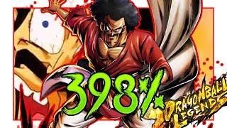 Sparking Hercule 398%    Dragon Ball Legends