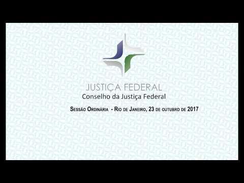 Sessão do CJF (23/10/2017)