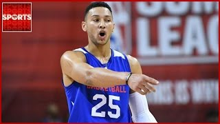 Nobody knows when ben simmons will return after breaking his foot