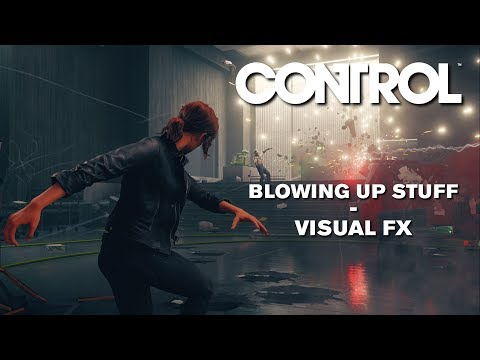 Control Blowing up stuff Visual FX (streamed on 23/04/2019)