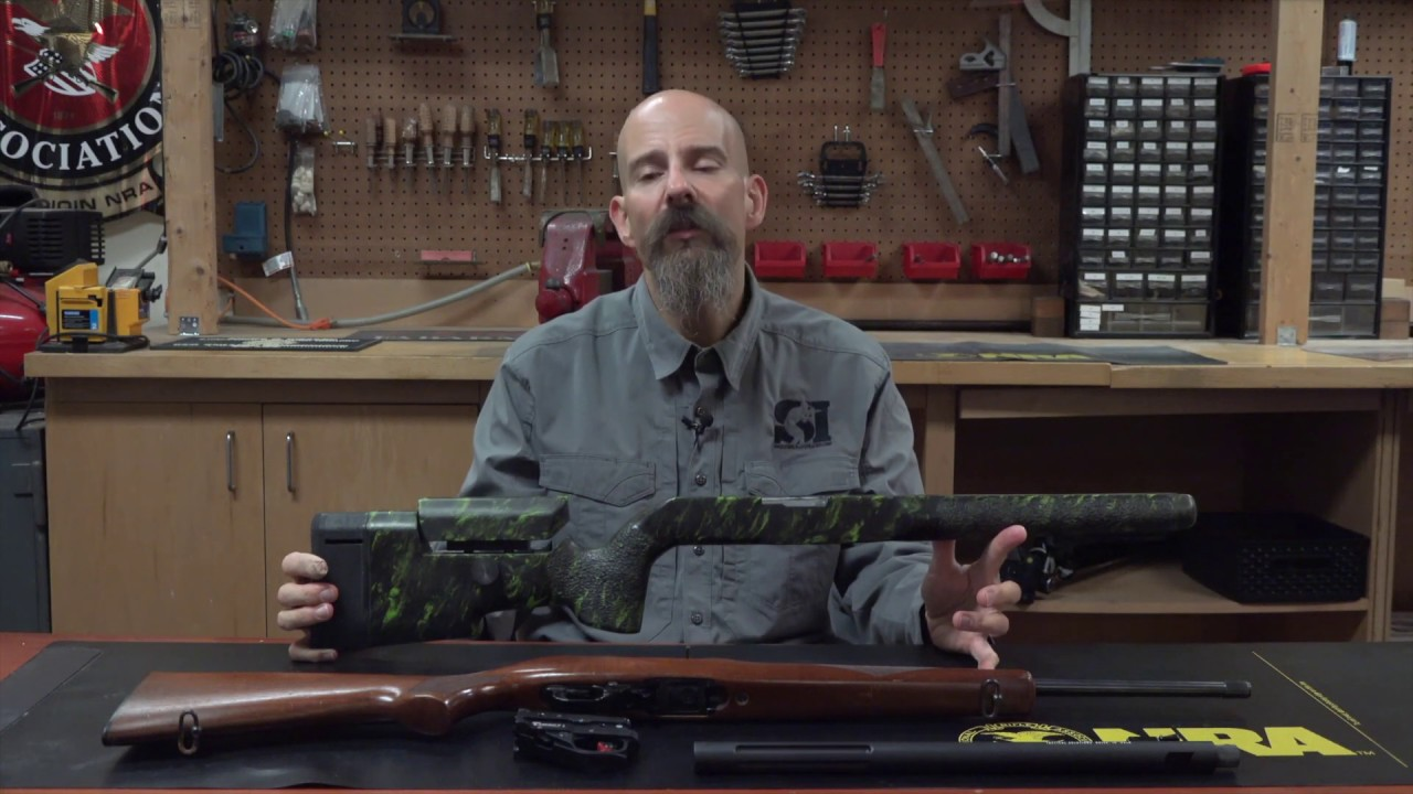 Ruger 10/22 Upgrade: McMillan A5-22 Stock