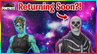 SKULL TROOPER IS RETURNING SOON!? (Fortnite Commentary) (Vbuck Giveaway)