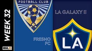 Fresno FC Vs. LA Galaxy    October 12 2019