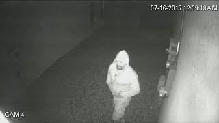 Neighborhood on high alert after Peeping Tom caught on camera