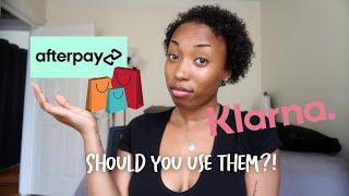 Using Afterpay   Afterpay & Klarna
