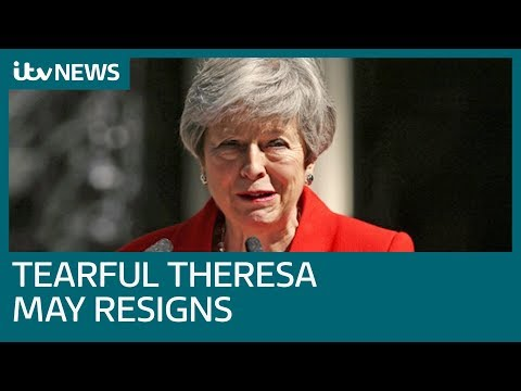 New PM by end of July as tearful Theresa May confirms exit date | ITV News